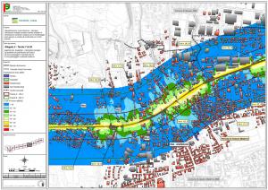 Mappa del rumore con mitigazioni