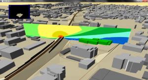 Modello acustico - Mappa verticale