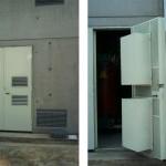 Silenziatori interni su porta locali trasformatori