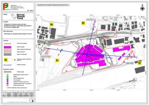 Planimetria di inquadramento modello acustico