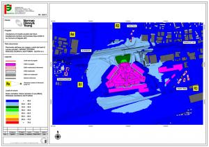 Mappa del rumore - Componente impianti
