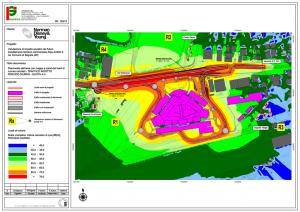 Mappa del rumore - Componente traffico indotto