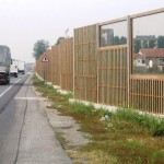 Barriera antirumore stradale