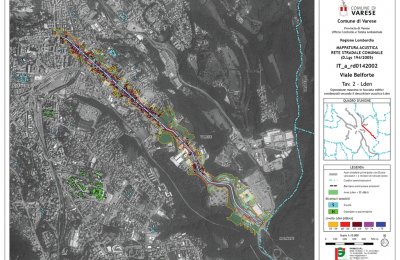Mappature acustiche gestori infrastrutture stradali Lombardia