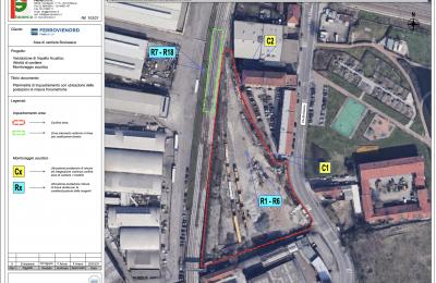 Piano di risanamento cantiere ferroviario