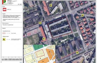Valutazione Impatto Acustico cantiere nuovo insediamento Edilizia Residenziale Pubblica via Giaggioli MI